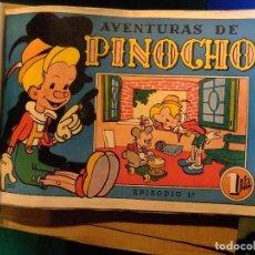 Tebeos: AVENTURAS DE PINOCHO COLECCION COMPLETA EDITORIAL BRUGUERA 1944. Lote 112924231