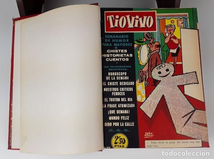 Tebeos: LOTE DE 50 EJEMPLARES ENCUADERNADOS EN 1 TOMO. VARIOS AUTORES.1957/1959. - Foto 2 - 113000939