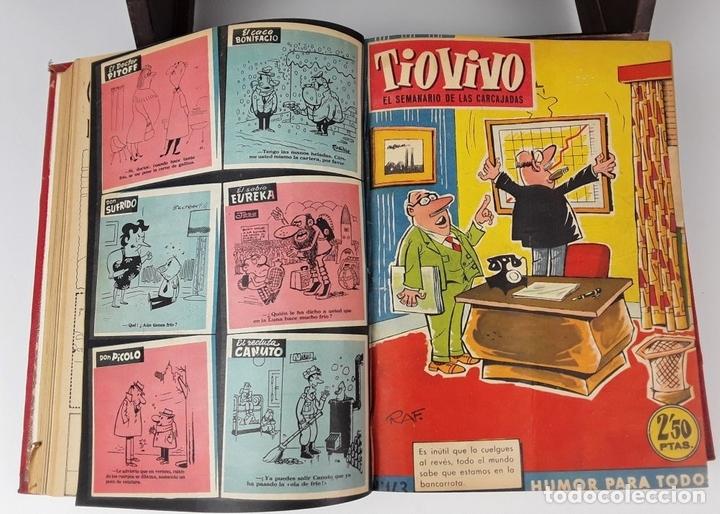 Tebeos: LOTE DE 50 EJEMPLARES ENCUADERNADOS EN 1 TOMO. VARIOS AUTORES.1957/1959. - Foto 4 - 113000939
