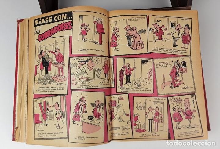 Tebeos: LOTE DE 50 EJEMPLARES ENCUADERNADOS EN 1 TOMO. VARIOS AUTORES.1957/1959. - Foto 5 - 113000939