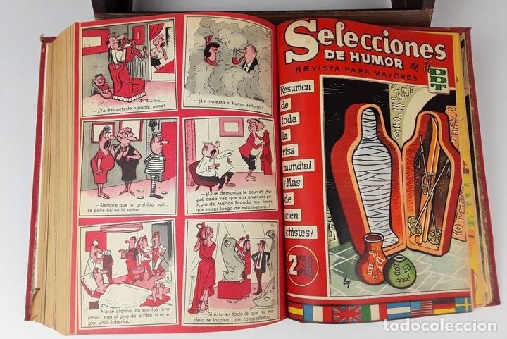 Tebeos: LOTE DE 50 EJEMPLARES ENCUADERNADOS EN 1 TOMO. VARIOS AUTORES.1957/1959. - Foto 12 - 113000939
