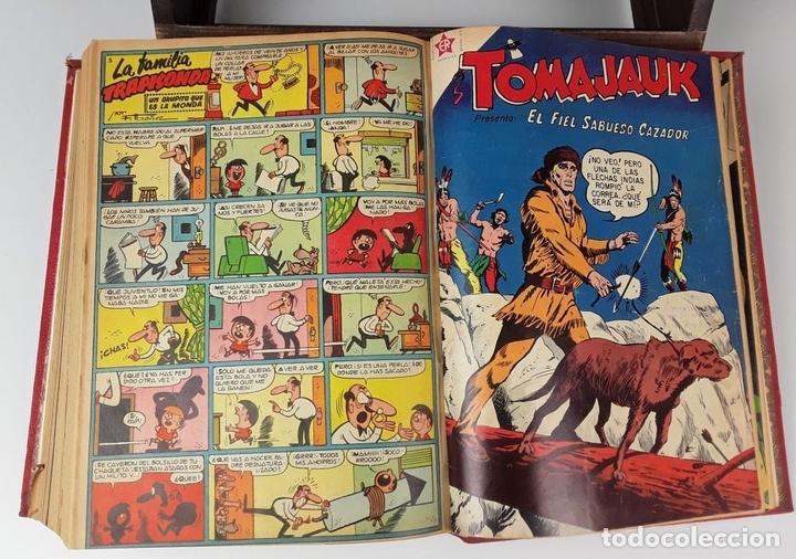 Tebeos: LOTE DE 50 EJEMPLARES ENCUADERNADOS EN 1 TOMO. VARIOS AUTORES.1957/1959. - Foto 16 - 113000939