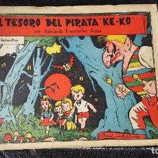 Tebeos: EL TESORO DEL PIRATA KE-KO 1ª PARTE DE 15 EPISODIOS ) ORIGINALES. Lote 113142715