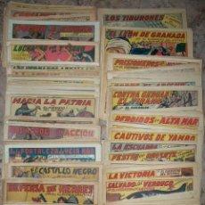 Tebeos: EL GUERRERO DEL ANTIFAZ (VALENCIANA) (L-5) (LOTE DE 390 NUMEROS DIFERENTES) VER DESCRIPCION. Lote 113534555