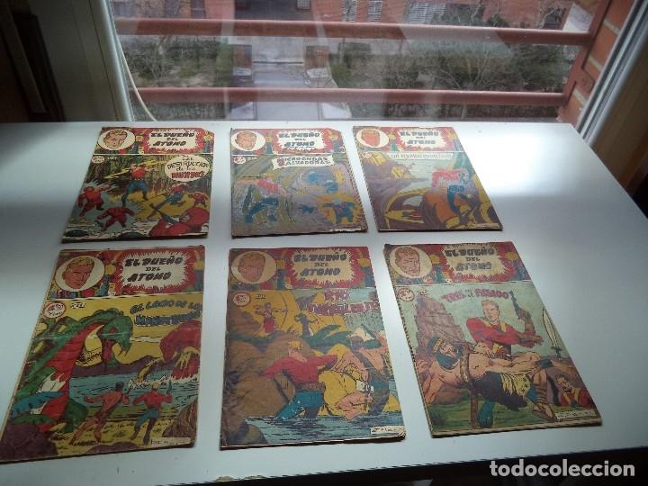 Tebeos: El Dueño del Átomo, Año 1.956. Lote de 30 Tebeos son Originales Dibujos de J. Marti, editorial ferma - Foto 5 - 110127911