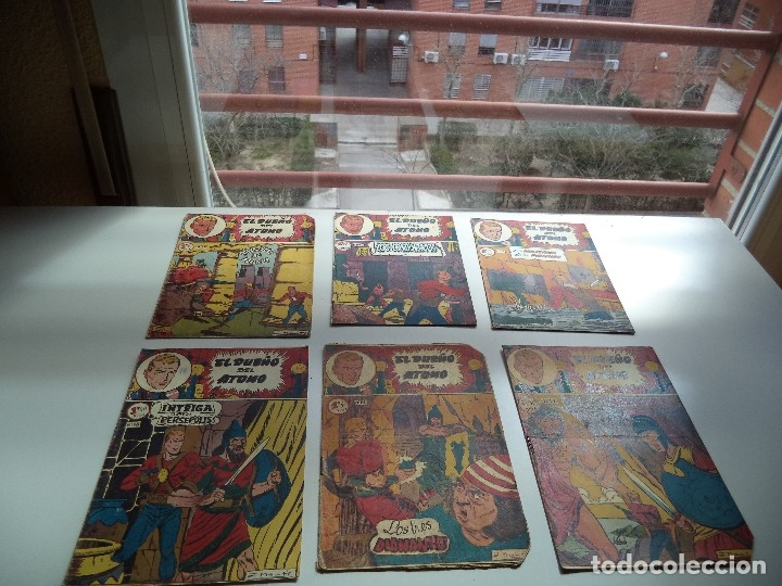 Tebeos: El Dueño del Átomo, Año 1.956. Lote de 30 Tebeos son Originales Dibujos de J. Marti, editorial ferma - Foto 6 - 110127911