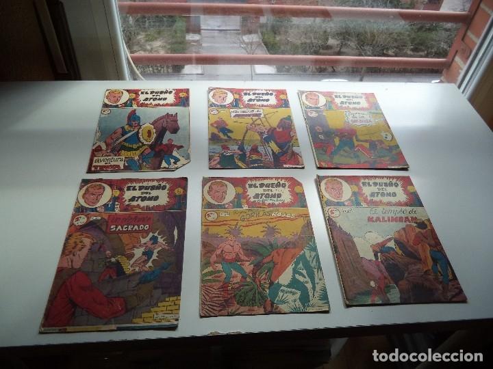 Tebeos: El Dueño del Átomo, Año 1.956. Lote de 30 Tebeos son Originales Dibujos de J. Marti, editorial ferma - Foto 7 - 110127911