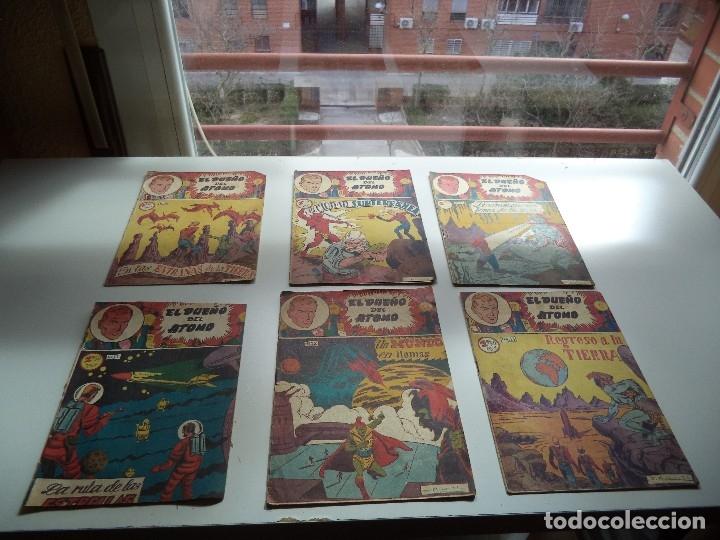 Tebeos: El Dueño del Átomo, Año 1.956. Lote de 30 Tebeos son Originales Dibujos de J. Marti, editorial ferma - Foto 8 - 110127911