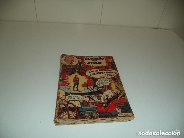 Tebeos: El Dueño del Átomo, Año 1.956. Lote de 30 Tebeos son Originales Dibujos de J. Marti, editorial ferma - Foto 3 - 110127911