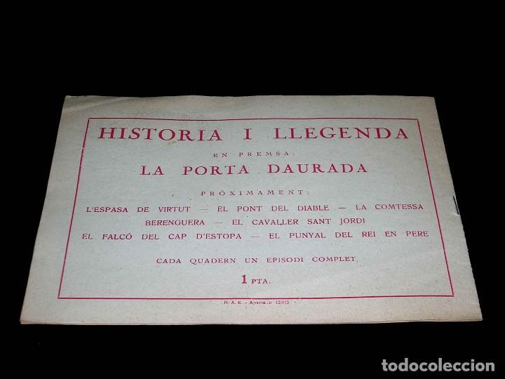 Tebeos: Colección completa 28 tebeos Historia i Llegenda, Hispano Americana en Catalán, original años 50. - Foto 5 - 113629519