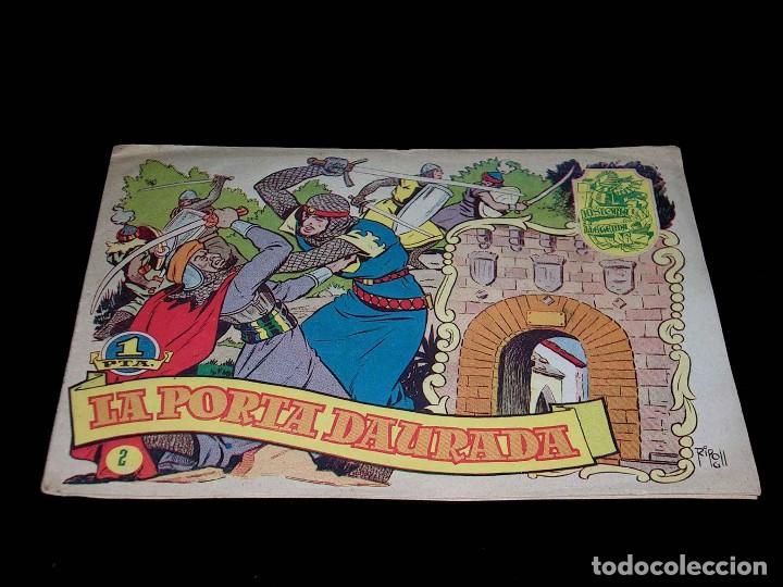 Tebeos: Colección completa 28 tebeos Historia i Llegenda, Hispano Americana en Catalán, original años 50. - Foto 6 - 113629519