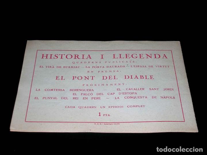 Tebeos: Colección completa 28 tebeos Historia i Llegenda, Hispano Americana en Catalán, original años 50. - Foto 9 - 113629519
