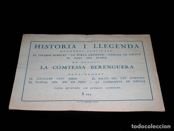 Tebeos: Colección completa 28 tebeos Historia i Llegenda, Hispano Americana en Catalán, original años 50. - Foto 11 - 113629519