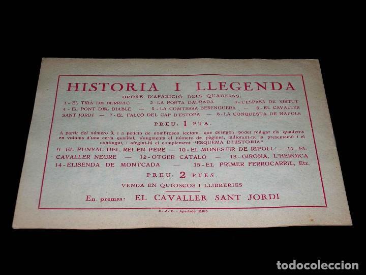 Tebeos: Colección completa 28 tebeos Historia i Llegenda, Hispano Americana en Catalán, original años 50. - Foto 13 - 113629519