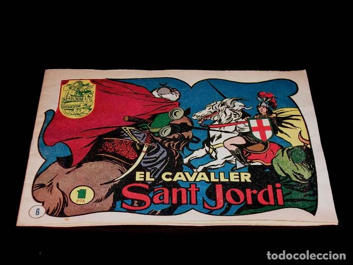 Tebeos: Colección completa 28 tebeos Historia i Llegenda, Hispano Americana en Catalán, original años 50. - Foto 14 - 113629519