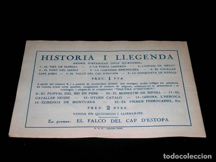 Tebeos: Colección completa 28 tebeos Historia i Llegenda, Hispano Americana en Catalán, original años 50. - Foto 15 - 113629519