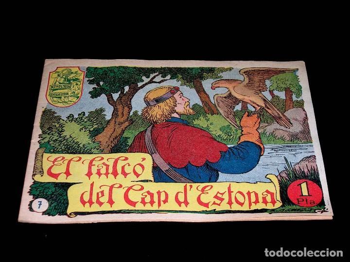 Tebeos: Colección completa 28 tebeos Historia i Llegenda, Hispano Americana en Catalán, original años 50. - Foto 16 - 113629519