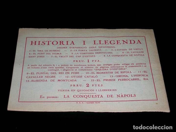 Tebeos: Colección completa 28 tebeos Historia i Llegenda, Hispano Americana en Catalán, original años 50. - Foto 17 - 113629519