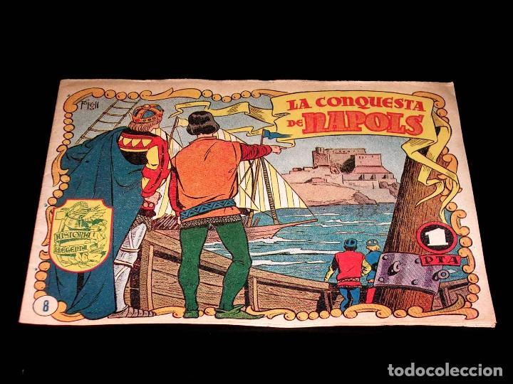 Tebeos: Colección completa 28 tebeos Historia i Llegenda, Hispano Americana en Catalán, original años 50. - Foto 18 - 113629519
