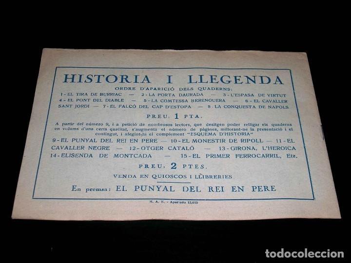 Tebeos: Colección completa 28 tebeos Historia i Llegenda, Hispano Americana en Catalán, original años 50. - Foto 19 - 113629519