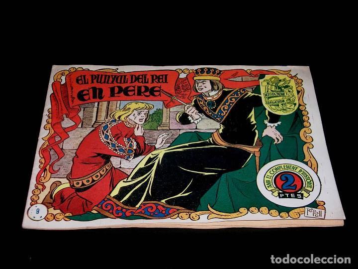 Tebeos: Colección completa 28 tebeos Historia i Llegenda, Hispano Americana en Catalán, original años 50. - Foto 20 - 113629519