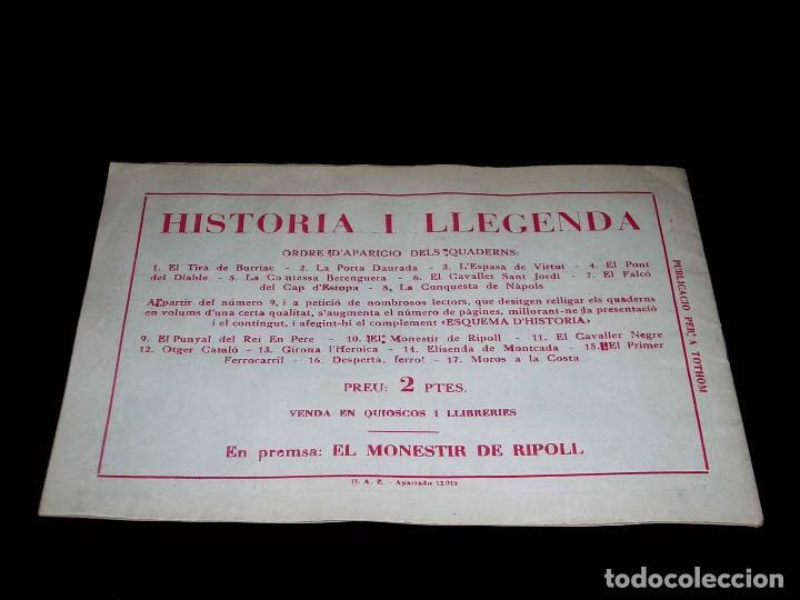 Tebeos: Colección completa 28 tebeos Historia i Llegenda, Hispano Americana en Catalán, original años 50. - Foto 21 - 113629519