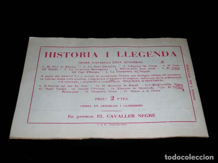 Tebeos: Colección completa 28 tebeos Historia i Llegenda, Hispano Americana en Catalán, original años 50. - Foto 23 - 113629519