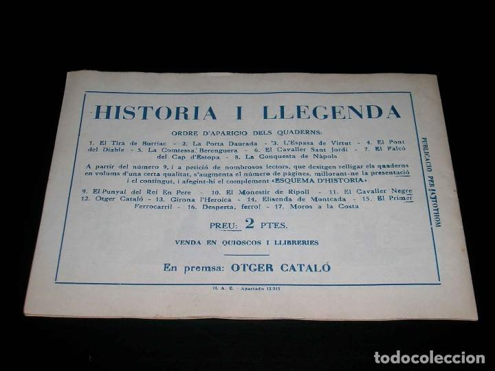 Tebeos: Colección completa 28 tebeos Historia i Llegenda, Hispano Americana en Catalán, original años 50. - Foto 25 - 113629519