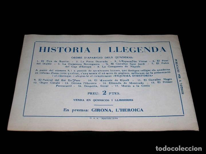 Tebeos: Colección completa 28 tebeos Historia i Llegenda, Hispano Americana en Catalán, original años 50. - Foto 27 - 113629519