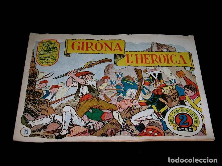 Tebeos: Colección completa 28 tebeos Historia i Llegenda, Hispano Americana en Catalán, original años 50. - Foto 28 - 113629519
