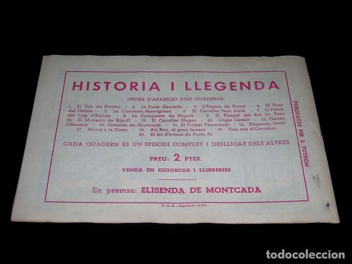 Tebeos: Colección completa 28 tebeos Historia i Llegenda, Hispano Americana en Catalán, original años 50. - Foto 29 - 113629519