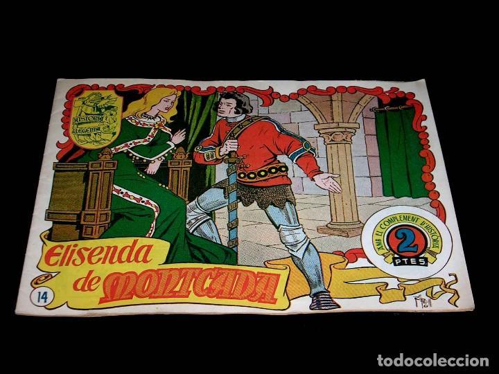 Tebeos: Colección completa 28 tebeos Historia i Llegenda, Hispano Americana en Catalán, original años 50. - Foto 30 - 113629519