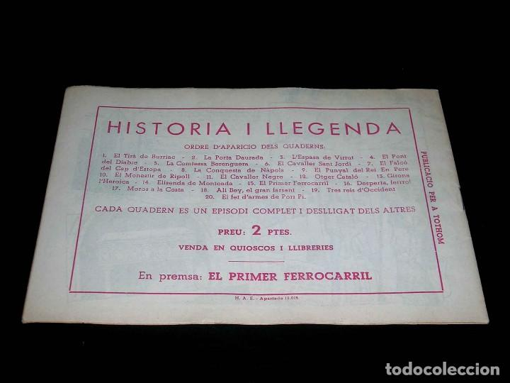 Tebeos: Colección completa 28 tebeos Historia i Llegenda, Hispano Americana en Catalán, original años 50. - Foto 31 - 113629519