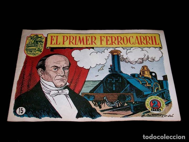 Tebeos: Colección completa 28 tebeos Historia i Llegenda, Hispano Americana en Catalán, original años 50. - Foto 32 - 113629519