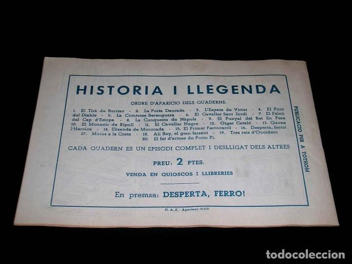 Tebeos: Colección completa 28 tebeos Historia i Llegenda, Hispano Americana en Catalán, original años 50. - Foto 33 - 113629519