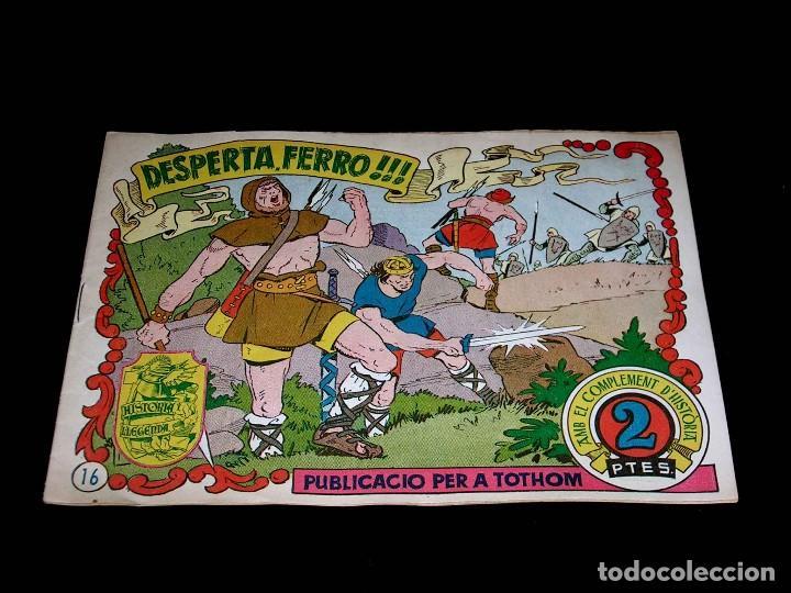 Tebeos: Colección completa 28 tebeos Historia i Llegenda, Hispano Americana en Catalán, original años 50. - Foto 34 - 113629519