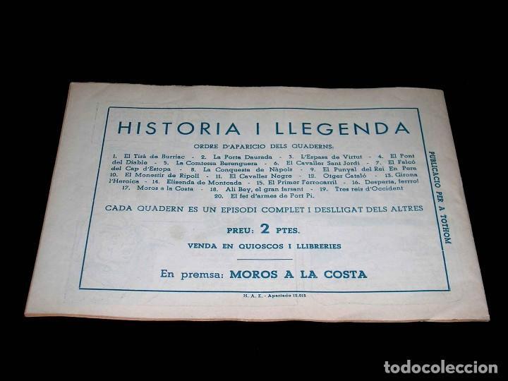 Tebeos: Colección completa 28 tebeos Historia i Llegenda, Hispano Americana en Catalán, original años 50. - Foto 35 - 113629519