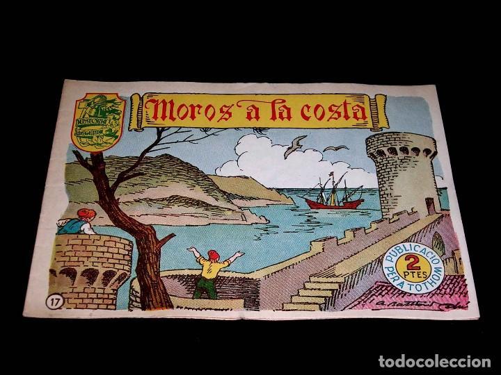 Tebeos: Colección completa 28 tebeos Historia i Llegenda, Hispano Americana en Catalán, original años 50. - Foto 36 - 113629519
