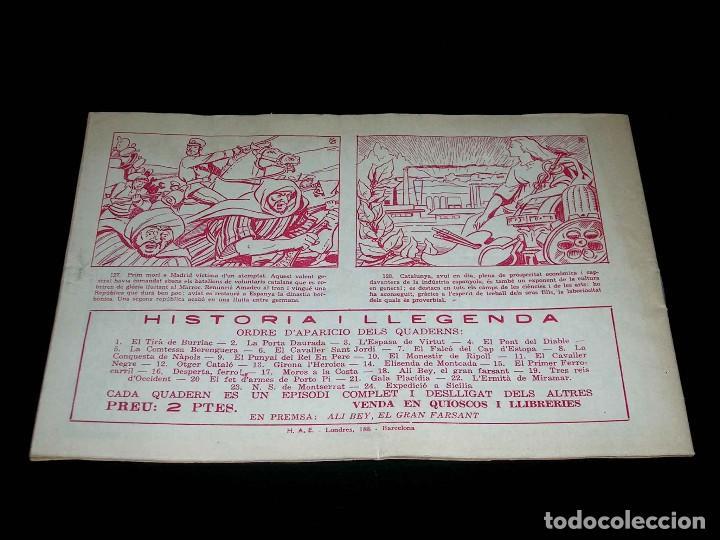 Tebeos: Colección completa 28 tebeos Historia i Llegenda, Hispano Americana en Catalán, original años 50. - Foto 37 - 113629519
