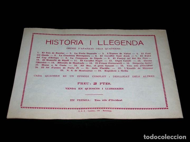 Tebeos: Colección completa 28 tebeos Historia i Llegenda, Hispano Americana en Catalán, original años 50. - Foto 39 - 113629519