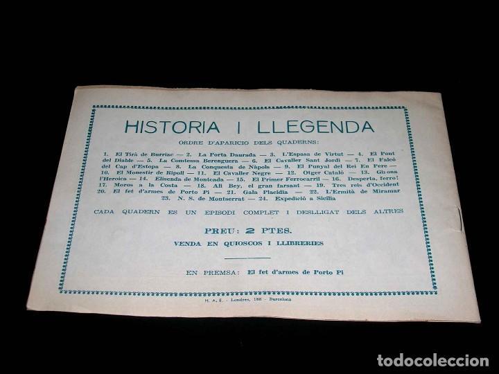 Tebeos: Colección completa 28 tebeos Historia i Llegenda, Hispano Americana en Catalán, original años 50. - Foto 41 - 113629519