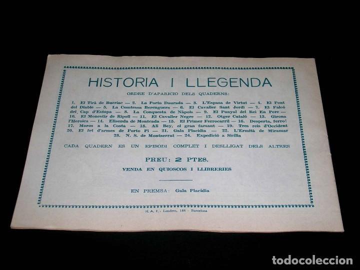 Tebeos: Colección completa 28 tebeos Historia i Llegenda, Hispano Americana en Catalán, original años 50. - Foto 43 - 113629519