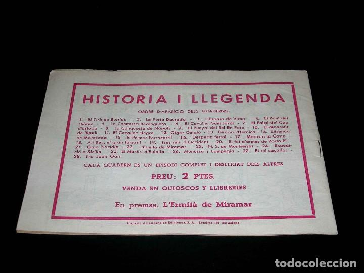 Tebeos: Colección completa 28 tebeos Historia i Llegenda, Hispano Americana en Catalán, original años 50. - Foto 45 - 113629519