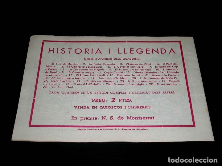 Tebeos: Colección completa 28 tebeos Historia i Llegenda, Hispano Americana en Catalán, original años 50. - Foto 47 - 113629519
