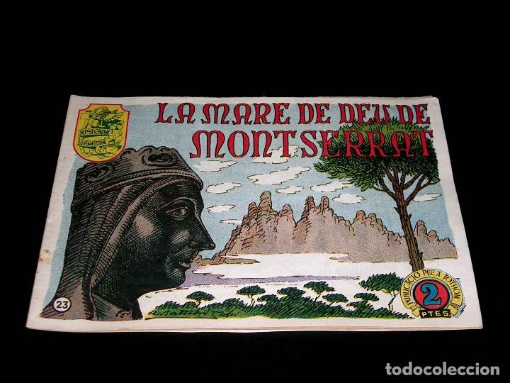 Tebeos: Colección completa 28 tebeos Historia i Llegenda, Hispano Americana en Catalán, original años 50. - Foto 48 - 113629519
