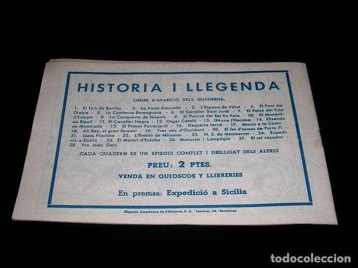 Tebeos: Colección completa 28 tebeos Historia i Llegenda, Hispano Americana en Catalán, original años 50. - Foto 49 - 113629519