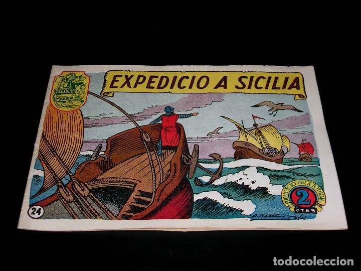 Tebeos: Colección completa 28 tebeos Historia i Llegenda, Hispano Americana en Catalán, original años 50. - Foto 50 - 113629519