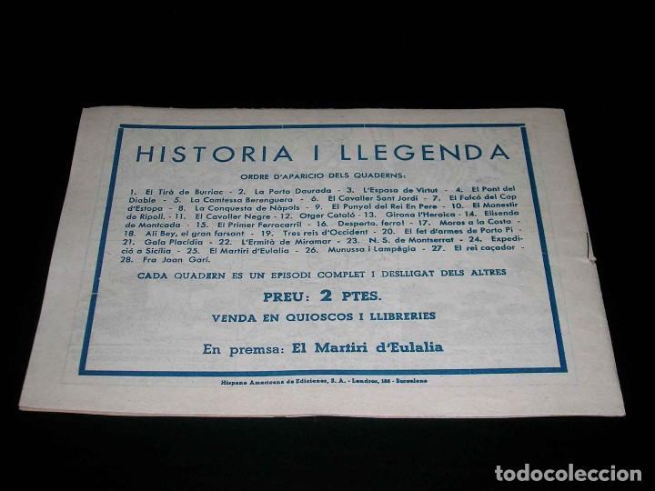 Tebeos: Colección completa 28 tebeos Historia i Llegenda, Hispano Americana en Catalán, original años 50. - Foto 51 - 113629519