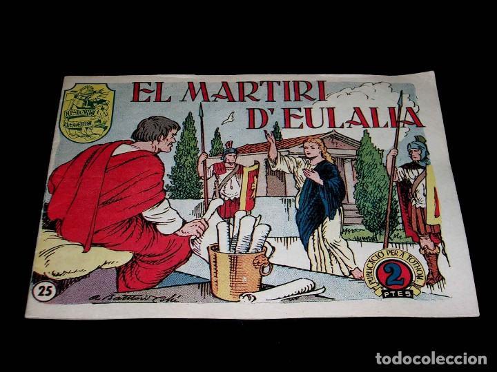 Tebeos: Colección completa 28 tebeos Historia i Llegenda, Hispano Americana en Catalán, original años 50. - Foto 52 - 113629519