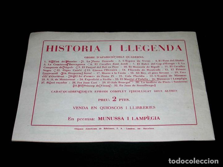 Tebeos: Colección completa 28 tebeos Historia i Llegenda, Hispano Americana en Catalán, original años 50. - Foto 53 - 113629519